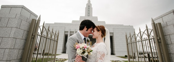 Draper LDS Temple Wedding–Amanda + Preston
