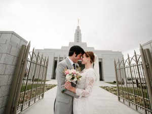 Draper LDS Temple Wedding