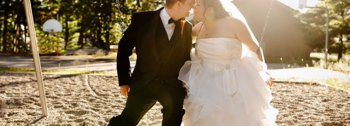 Nisswa Community Center Wedding – Chia + Shawn