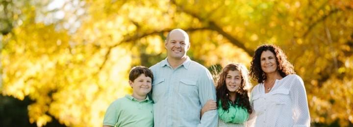 Fall Family Photos–Flaminio Family