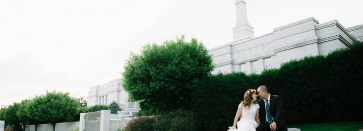 St Paul LDS Temple Bridal Groomal Session – Jill + Isaac