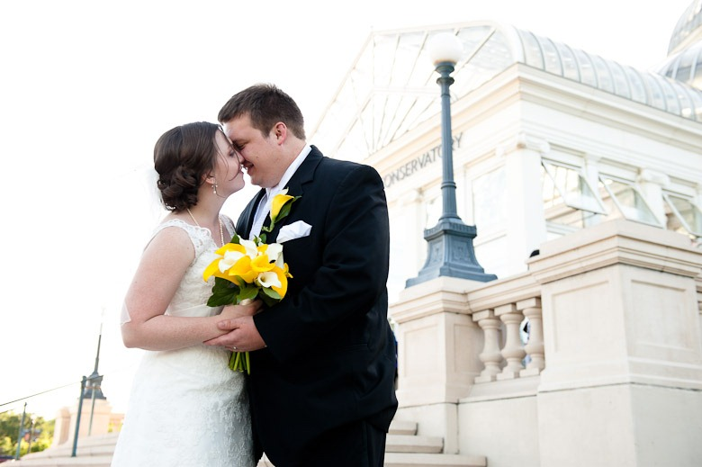 Como Zoo Conservatory Wedding