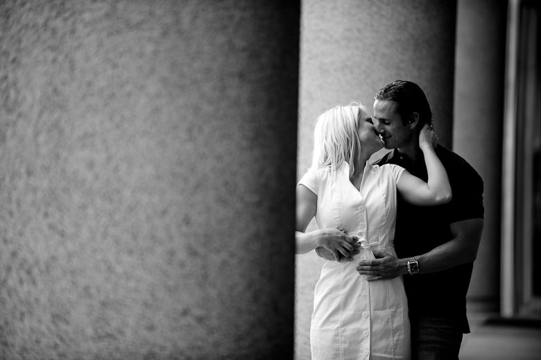 Nicollet Mall Engagement Session