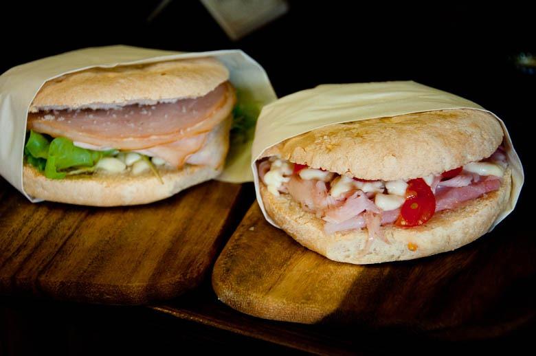 Florence_Italy-Italian Panini Sandwich