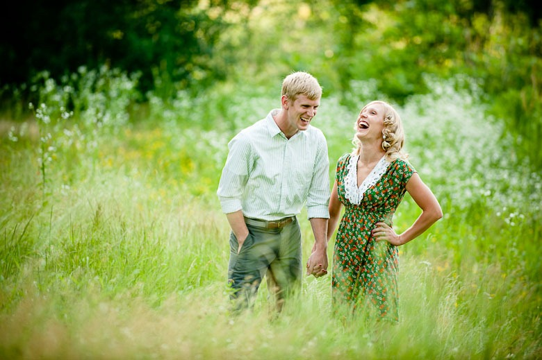 Maplewood Engagment Session