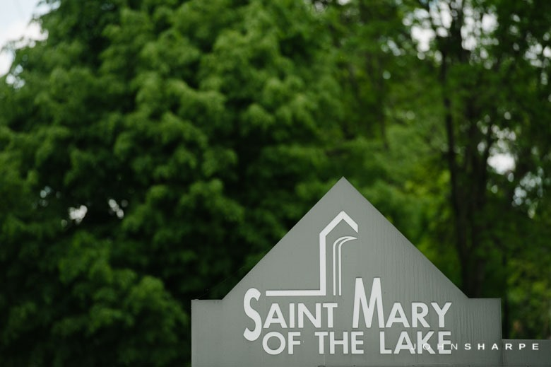 Saint Mary of the Lake Wedding