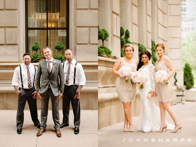 Saint Paul Hotel Wedding Photos--7